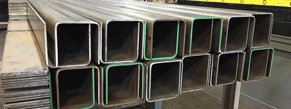 Steel _channels_ med _to _specifications_ NY - NYC _ Steel_ Fabricators, cutting, bending, welding - Bent_steel_channels_ NYC