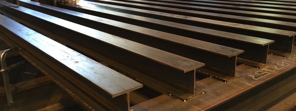 NYC_Structural_Steel_Fabricators - Steel_I_Beams_Fabricated_to_your_specification - Custom_Steel_Fabricators_I_Beams